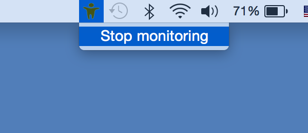 Stop Teentor monitoring for Mac OS