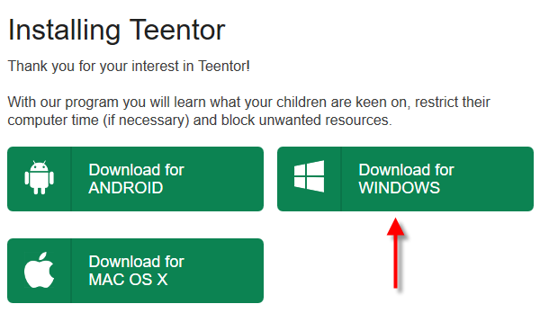 Download Teentor for Windows